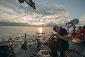Travaux subaquatiques au large de Ouistreham (cliquez pour voir la suite)