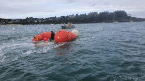 Renflouage de deux bateaux à Cancale
