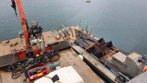Remplacement de portiques au niveau de la conduite d'eau potable en Rance